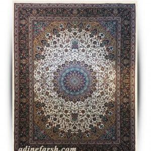 فرش اصفهان کرم ۱۰۰۰ شانه تراکم ۳۰۰۰