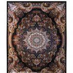 فرش نازنین سرمه ای ۱۰۰۰ شانه تراکم ۳۰۰۰