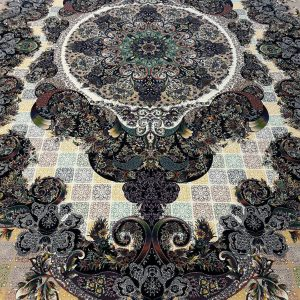 فرش حریر ۱۰۰۰ شانه جدید