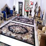 قیمت فرش 1000 شانه کاشان طرح اهورا