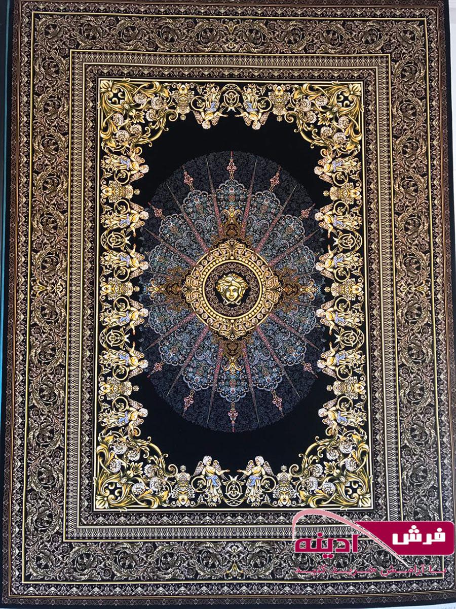 فرش ورساچه ۱۰۰۰ شانه تراکم ۳۰۰۰ Versace