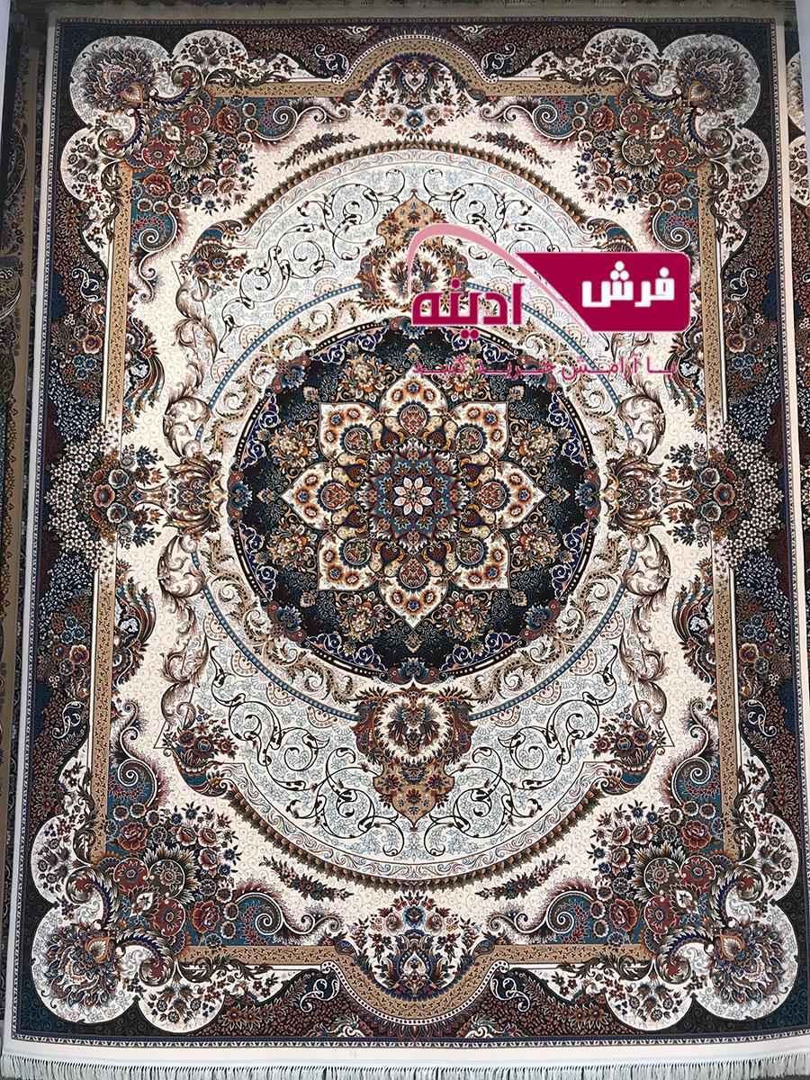 فرش گردویی جدید ۷۰۰ شانه فرش مانا