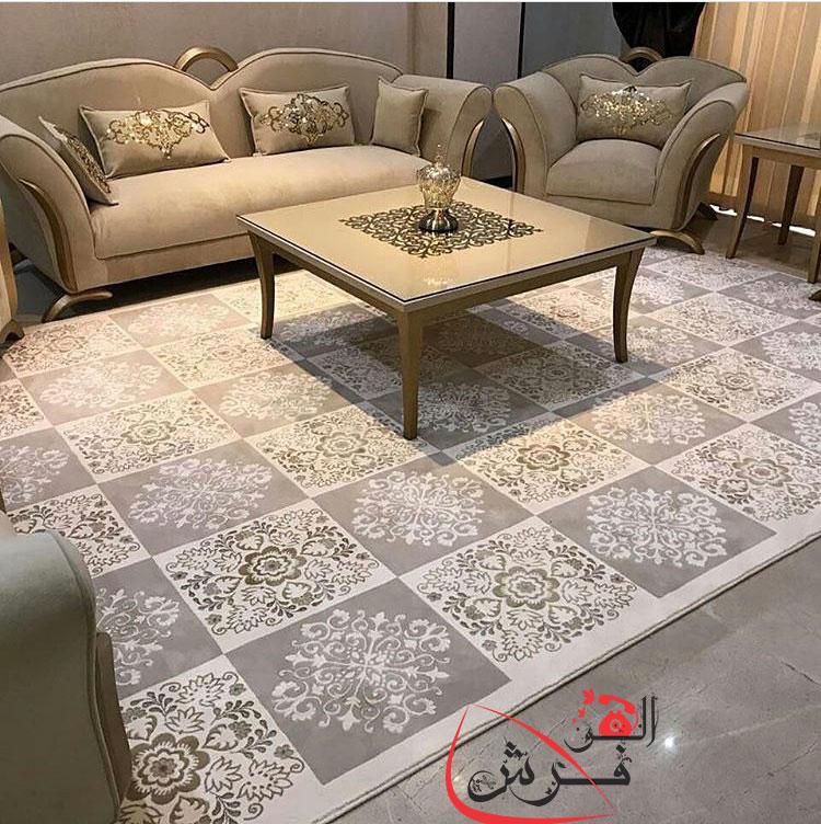 فرش کلاسیک فرش ترک برجسته