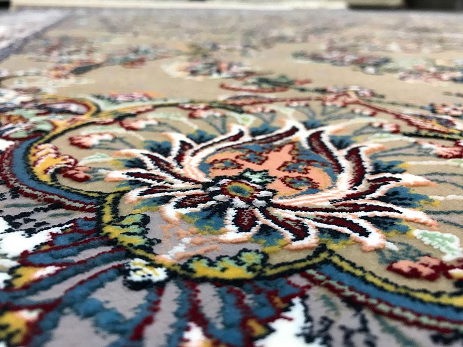 فرش کاشان برجسته جدید