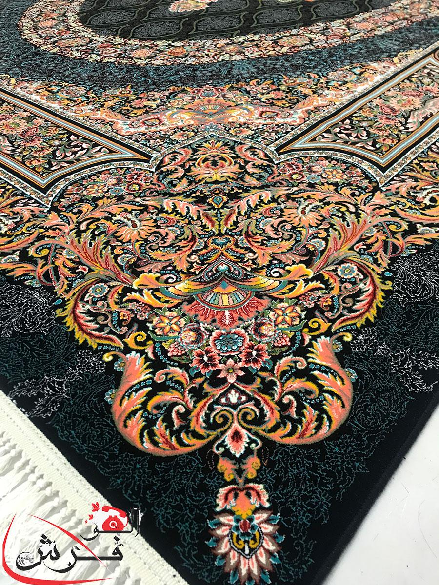 فرش کاشان ۱۲۰۰ شانه تراکم ۳۶۰۰ فلورانس