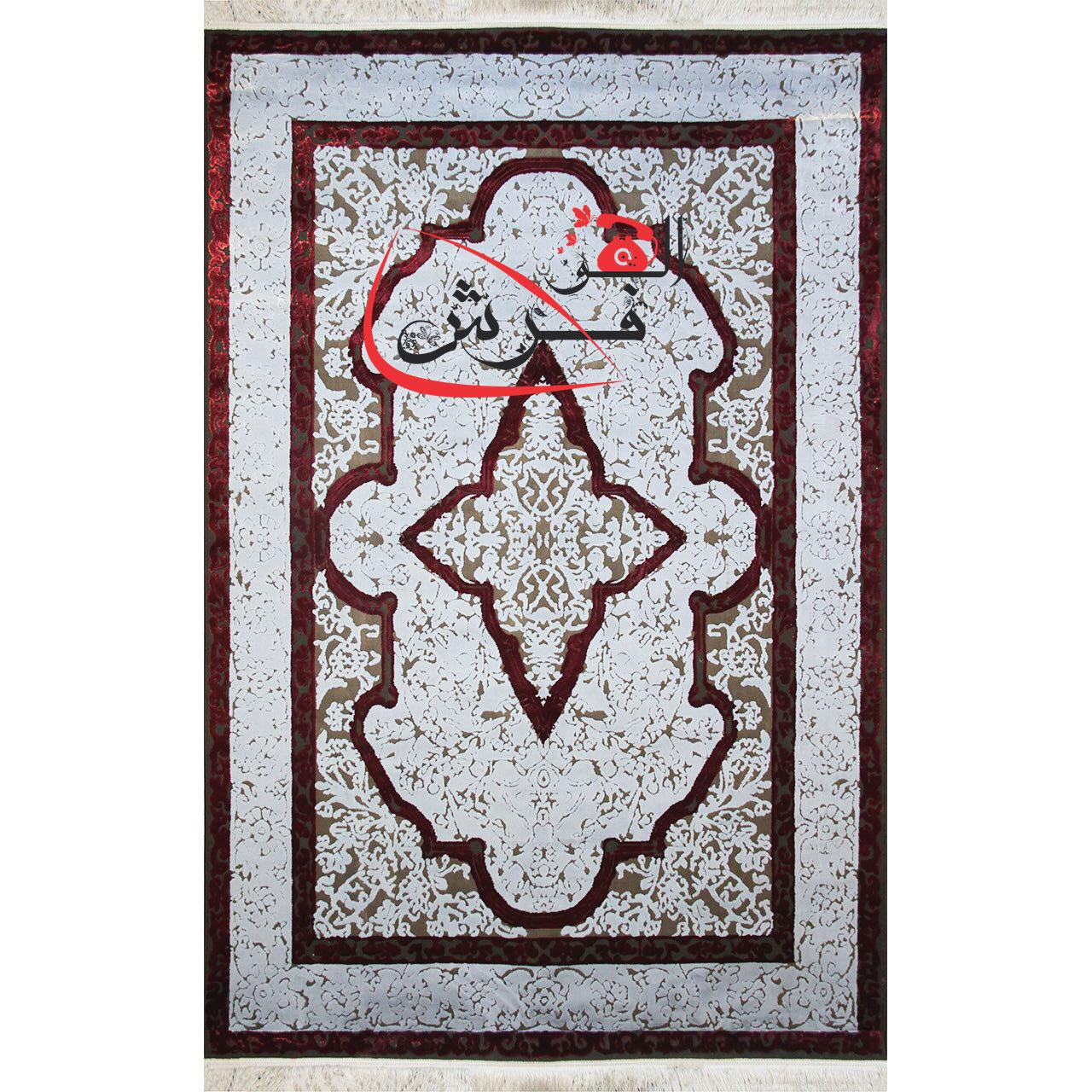 فرش سبک ابریشمی ماشینی