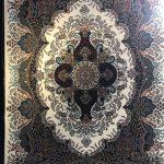 فرش دیانا سرمه ای ۷۰۰ شانه تراکم ۲۵۵۰