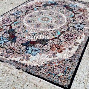 فرش حریر ۱۰۰۰ شانه جدید تراکم ۳۰۰۰