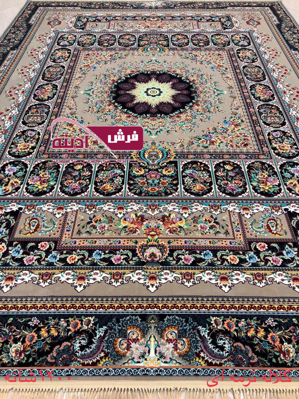 طرح 1200 شانه فرش گلاله و سلاطین